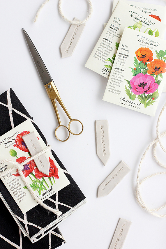 DIY Spring Place Setting Garden Marker | alice & lois for minted
