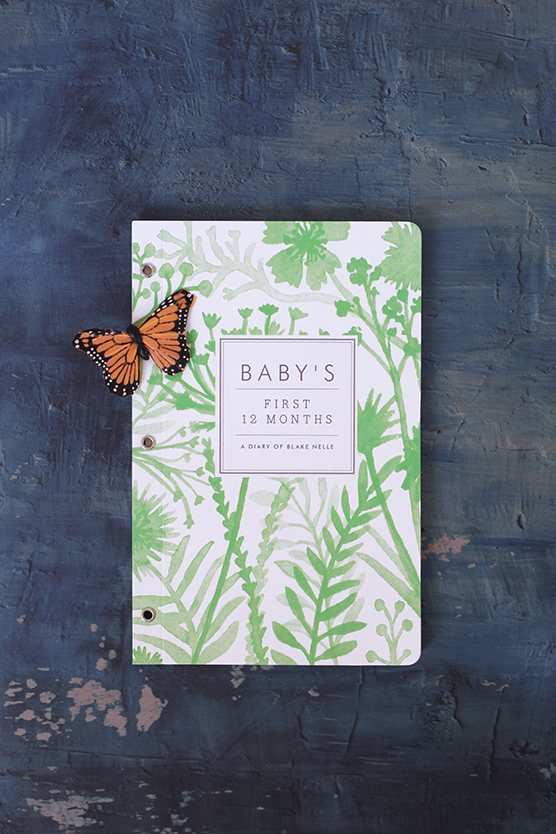 wildflower journal j.bartyn for minted