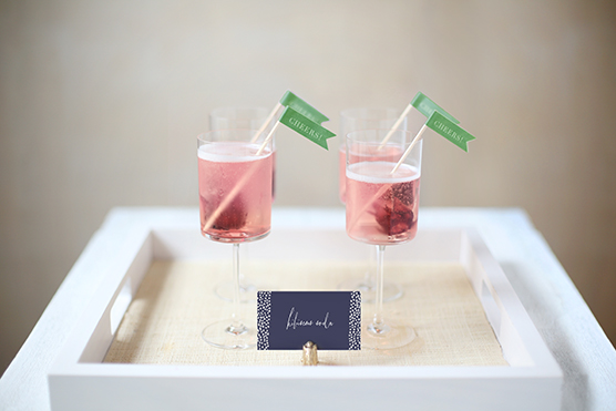 hibiscus fizz cocktail jungle baby shower by kelli hall for minted