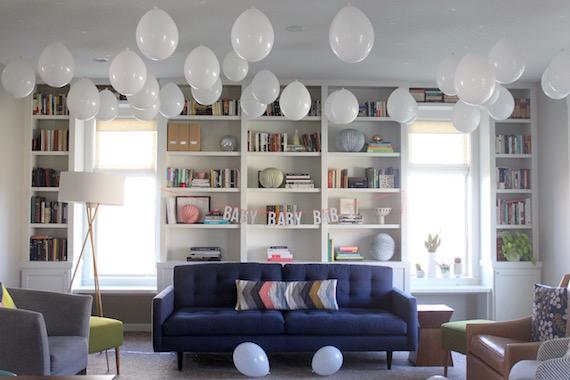 hanging balloons
