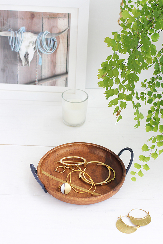 DIY Mother's Day Wood Jewelry Dish | alice & lois for minted