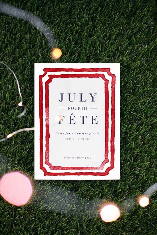 july fourth table styled for minted by kelli hall