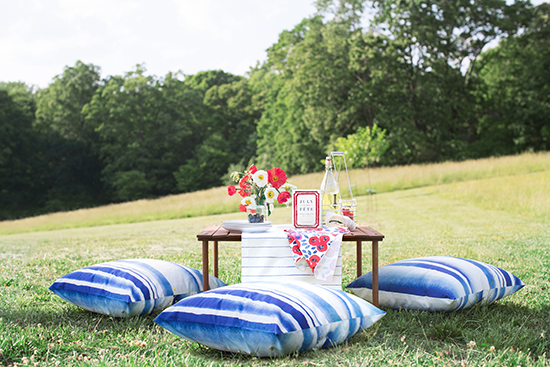 july fourth mini picnic styled for minted by kelli hall