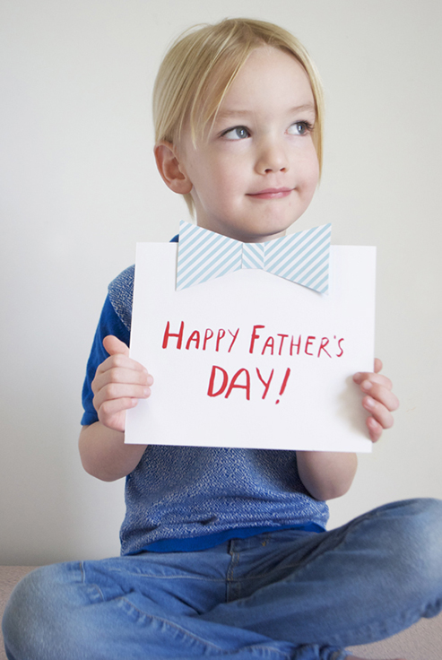 DIY Father's Day Card for Kids