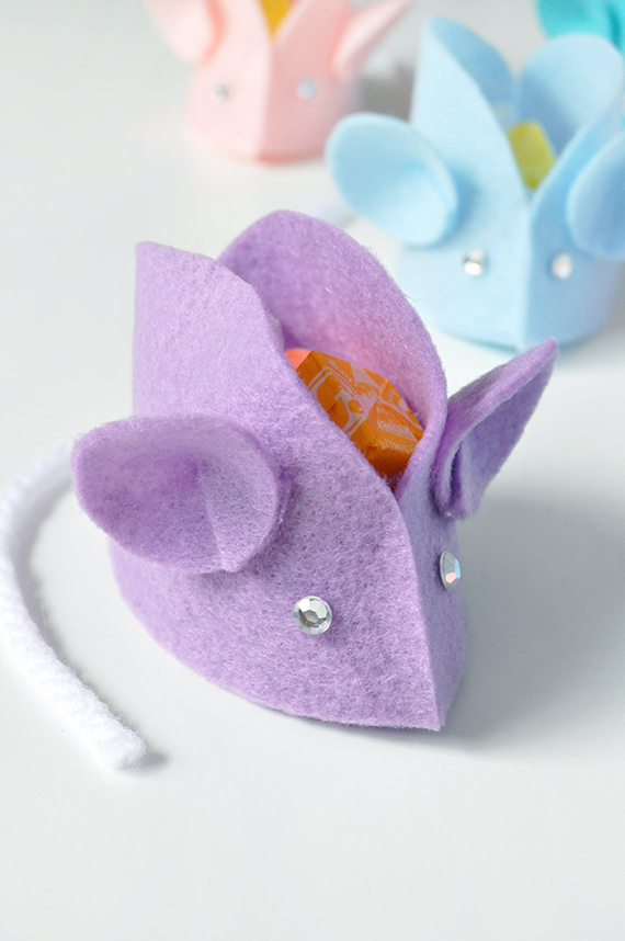 DIY Felt Mouse Favors | Julep