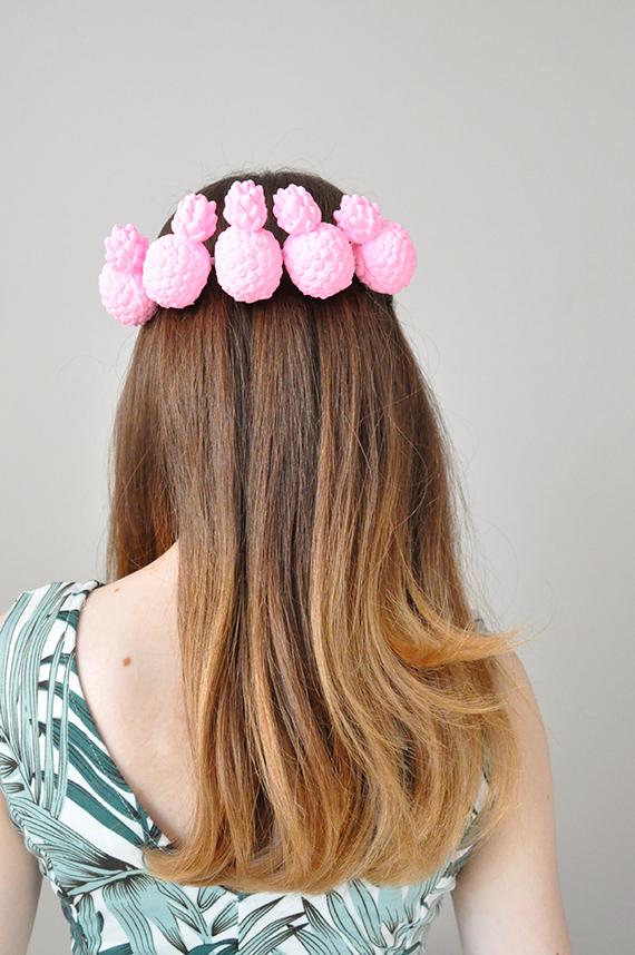 DIY Pineapple Crown | Julep