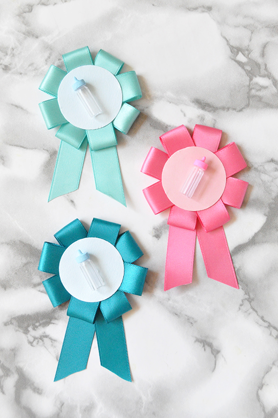 DIY Gender Reveal Pins on Julep