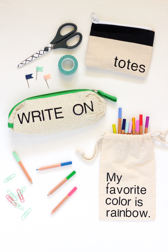 diy pencil pouches