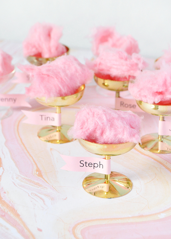 Champagne Coupe Place Cards | Julep