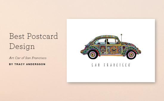 Minted Winning Postcard Design