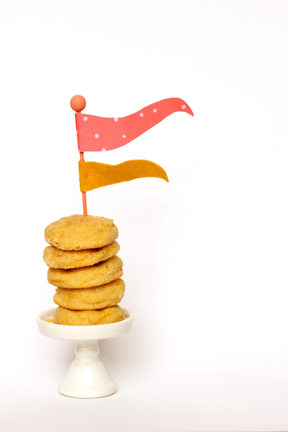 how to make flag cake toppers