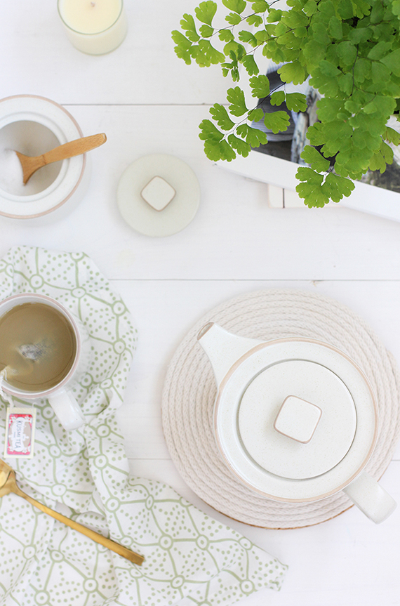 DIY Rope Coil Trivet | alice & lois for minted
