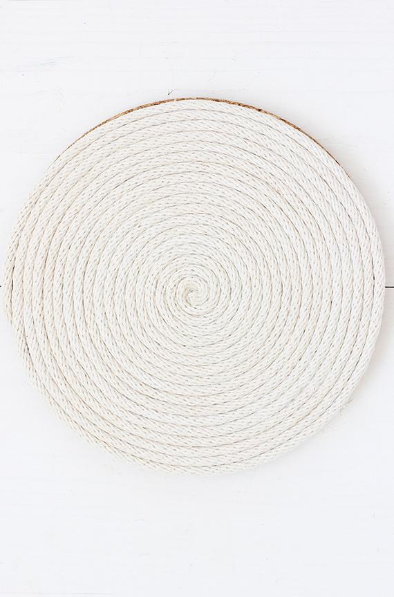 DIY Rope Coil Trivet | alice & lois for minted