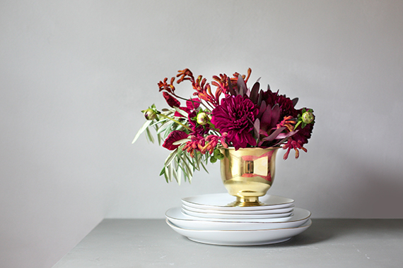 thanksgiving flowers for minted by kelli hall