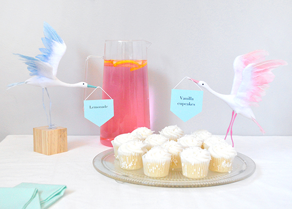 DIY Baby Shower Food Labels | Minted
