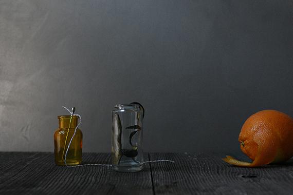eel charmer frankenstien-inspired halloween cocktail by kelli hall