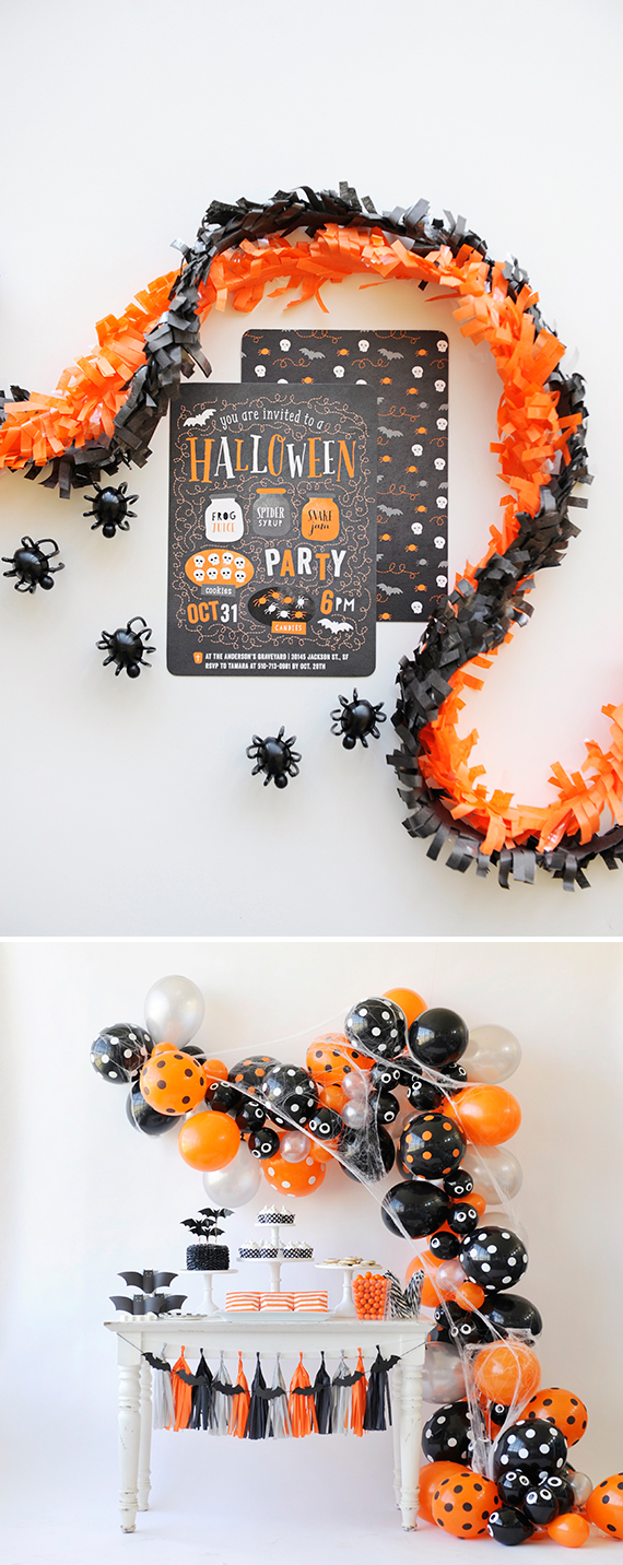 Minted Halloween Party Invitations