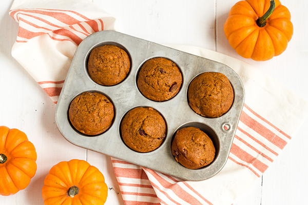 Recipe: Pumpkin Chocolate-Chip Muffins