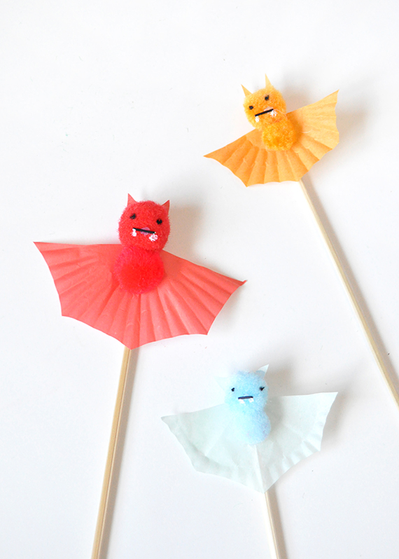 Colorful Bat Cake Toppers | Julep