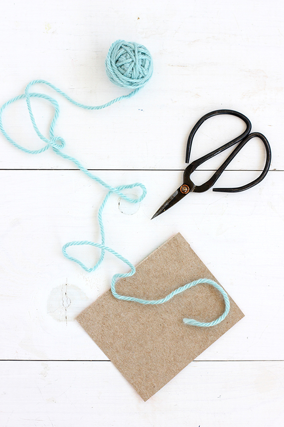 DIY Simple Tassel Napkin Ring