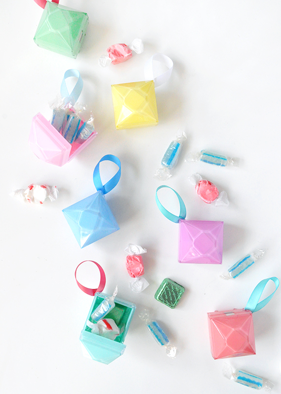 DIY Gem Christmas Ornaments | Julep