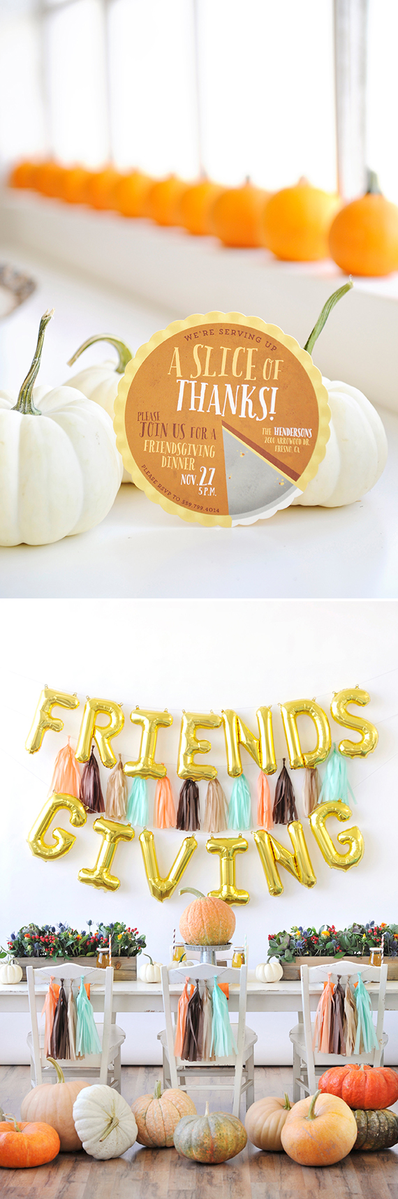 Friendsgiving Party Ideas