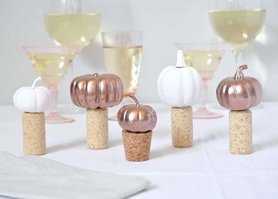 DIY Pumpkin Wine Stopper | Julep