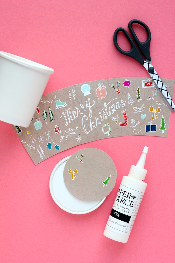 printable christmas packaging