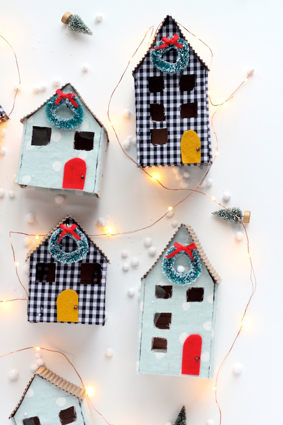 diy christmas houses