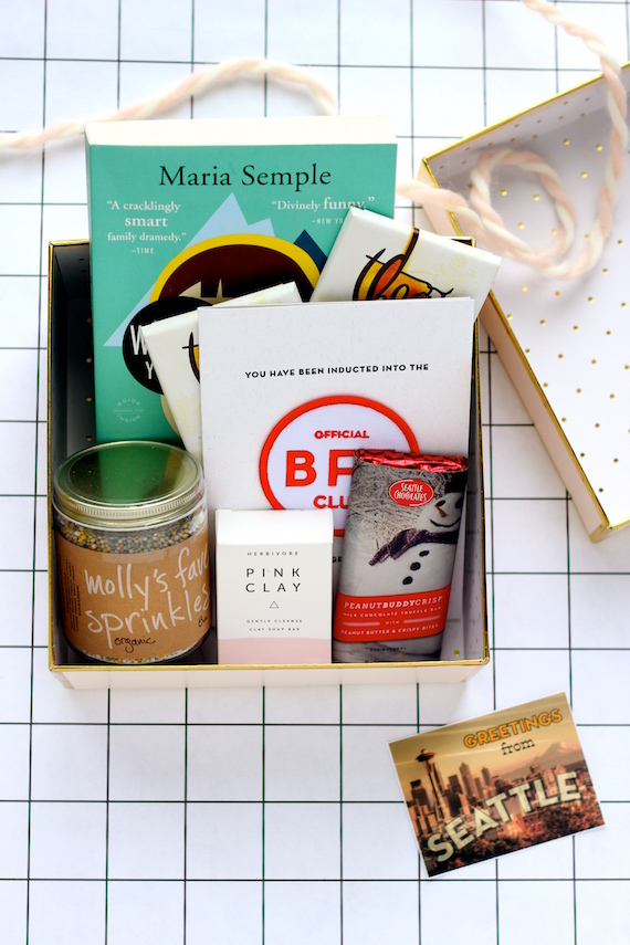 seattle themed gift box