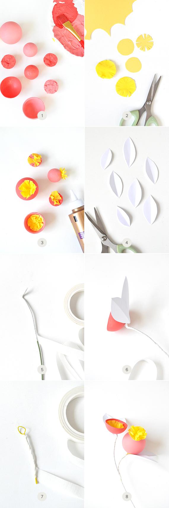 DIY Whimsical Valentine's Flowers   Julep