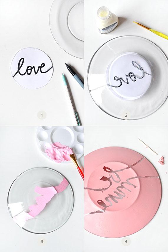 DIY Valentine's Plates | Julep