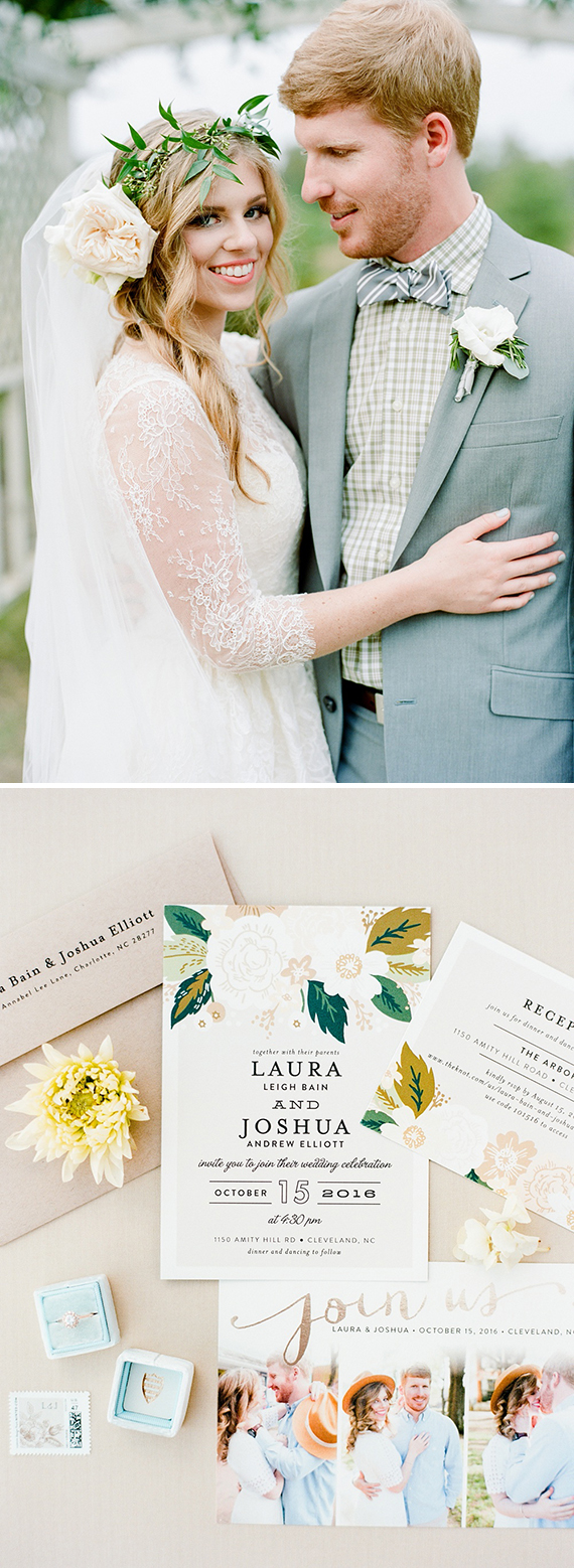 Minted Real Wedding, The Arbors Events