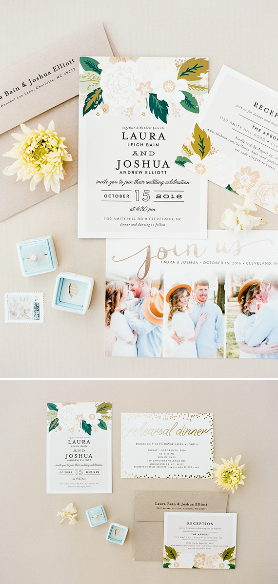 Minted Real Wedding   The Arbors Events