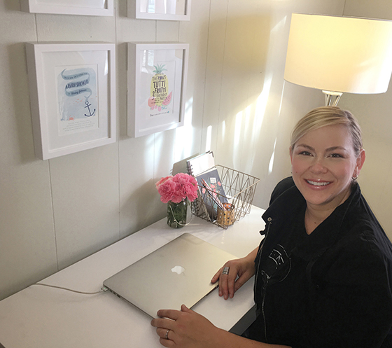 You can take the girl out of design, but you can't take design out of Minted artist Karidy Walker