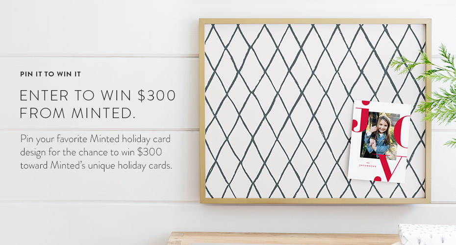 CONTEST: PIN YOUR FAVE MINTED HOLIDAY CARD ($1500 In PRIZES)