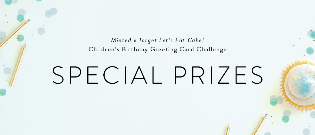 Outstanding Minted X Target Lets Eat Cake Childrens Birthday Card Challenge Personalised Birthday Cards Beptaeletsinfo