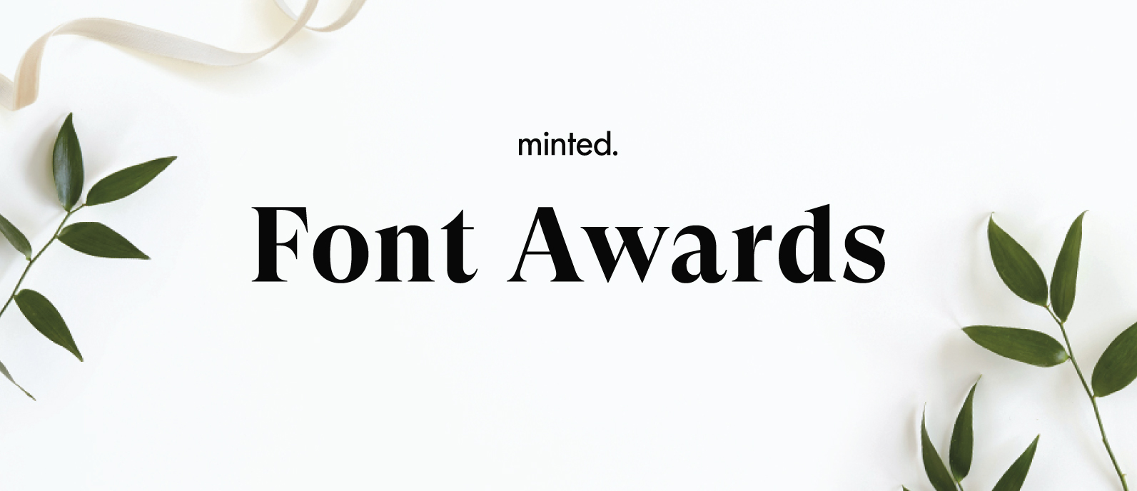 Font Award Round-Up : Special Prize Winners